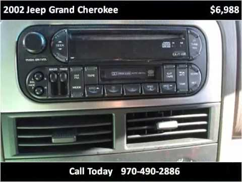 2002 jeep grand cherokee used cars fort collins co youtube. Black Bedroom Furniture Sets. Home Design Ideas