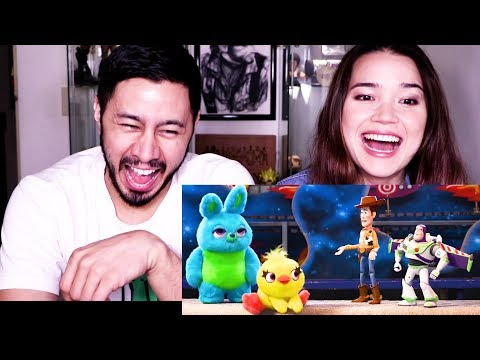 TOY STORY 4 TEASER TRAILER REACTION | Trailer #2 Reaction!