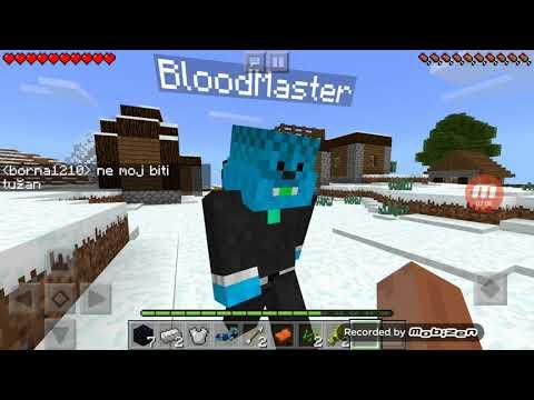 Minecraft praživljavanje sa BloodMaster!!! 😀