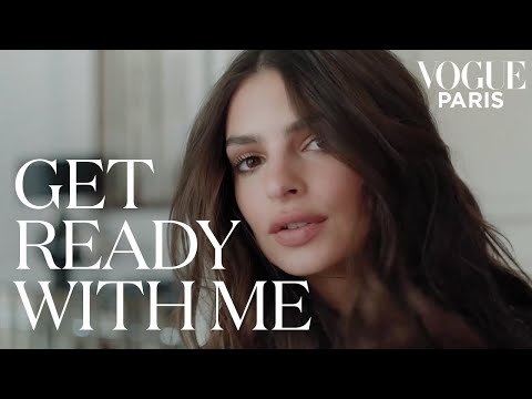 Emily Ratajkowski learns how to do a French girl hairstyle | Get Ready With Me | Vogue Paris