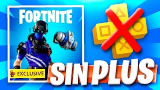 HOW TO GET NEW FREE PS PLUS FORTNITE PACK WITHOUT PS PLUS!! FORTNITE BATTLE ROYALE!