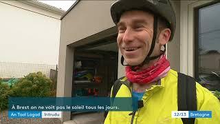 A vélo au boulot, c'est le Marc'h-houarn challenge en Bretagne