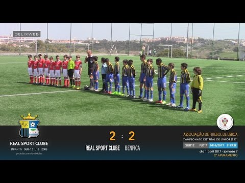 Real Sport Clube (2-2) Benfica [SUB12 FUT7 2016/2017]
