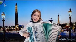 BALADE À PARIS, Valse parisienne – Valse musette – Madlyn music – Accordion Paris – Accordion France