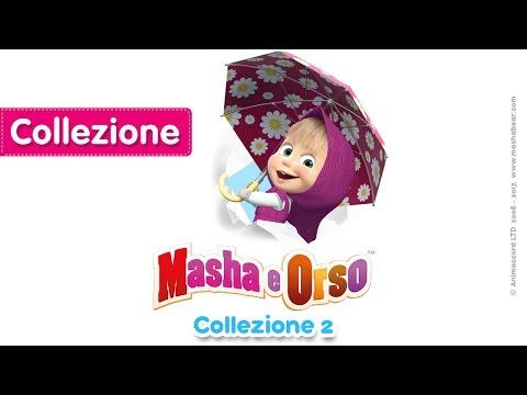 Masha e Orso - 🔵  Сollezione 2 🔵 (20 minutes) Nuovi cartoni animati 2017!