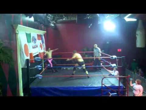 Marc Krieger vs Andrew Davis Pier 6 Wrestling 7312011