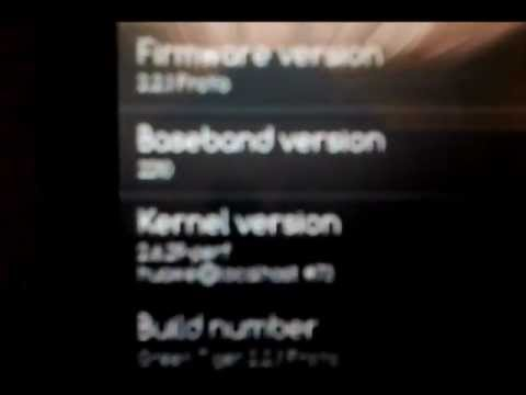 Vodafone 845 with GreenTiger Pulse Mini rom FroYo 2.2