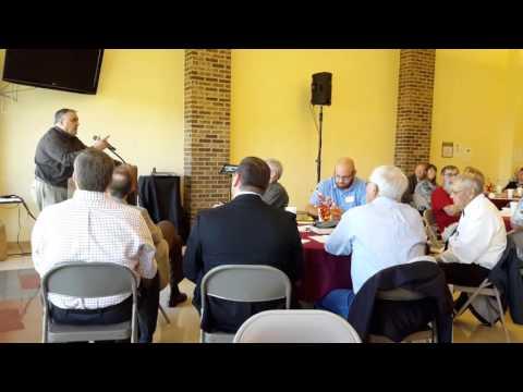Speaker Chris Long of Ohio Christian Alliance