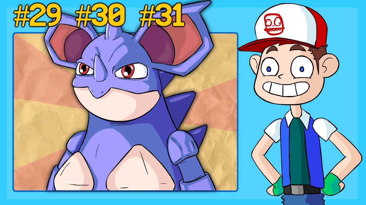 NIDORAN, NIDORINA, NIDOQUEEN - Pokémon Speed Drawing ...