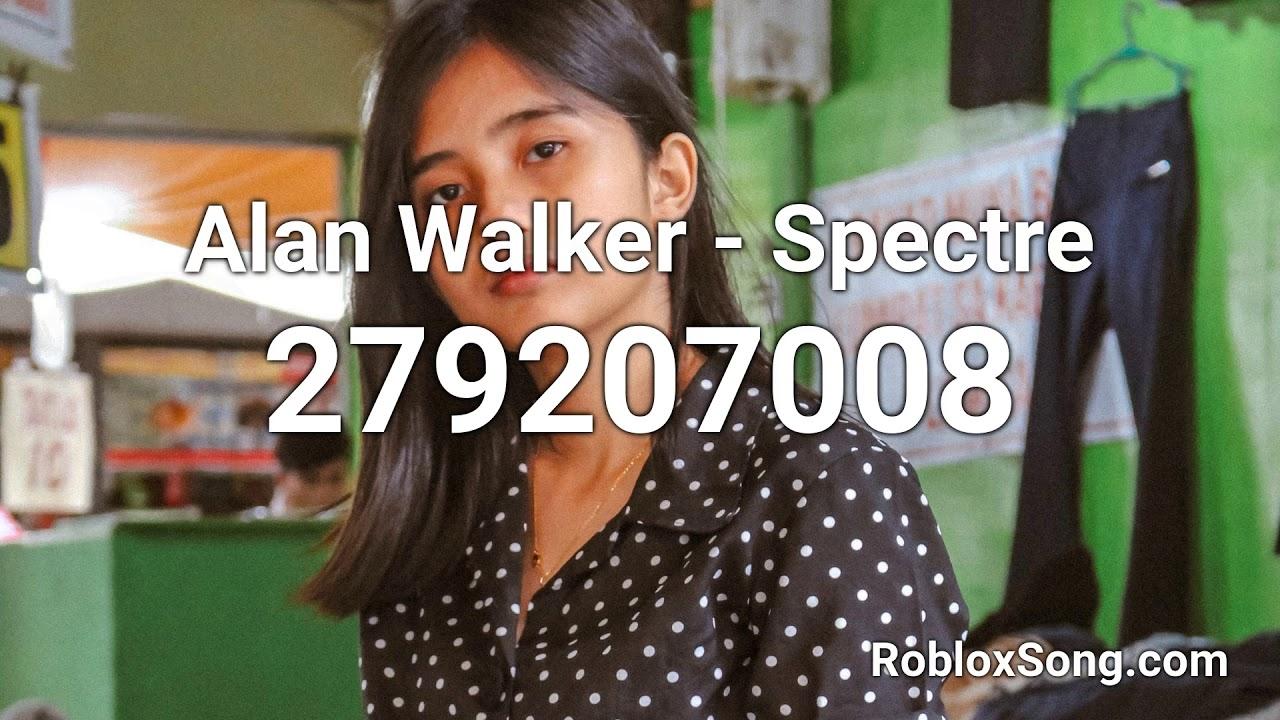 Alan Walker Spectre Roblox Id Roblox Music Code Youtube