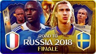 FINALE MONDIALI 2018 FRANCIA vs SVEZIA !!! FIFA 18 WORLD CUP #23