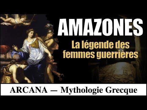 La légende des Amazones - Mythologie Grecque