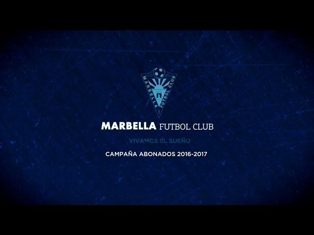 Campaña de abonados Marbella FC 2016-2017