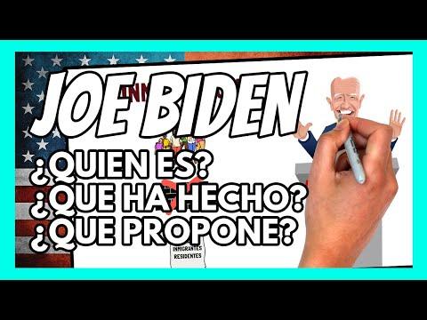 ☑️ JOE BIDEN: el RESUMEN definitivo | Propuestas, datos, su historia, su pasado...