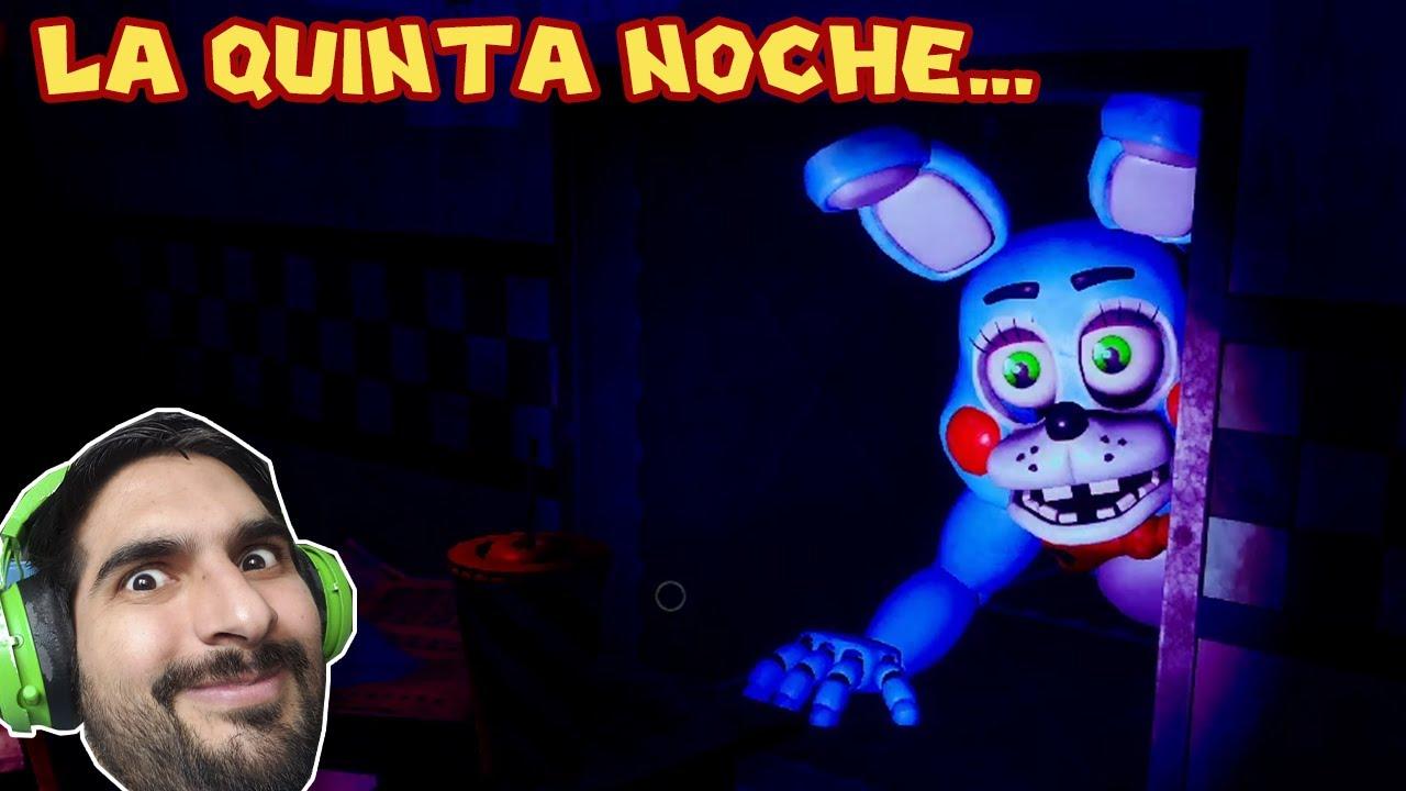 LA QUINTA NOCHE... - Five Night's at Freddy's 7 con Pepe el Mago (#6)
