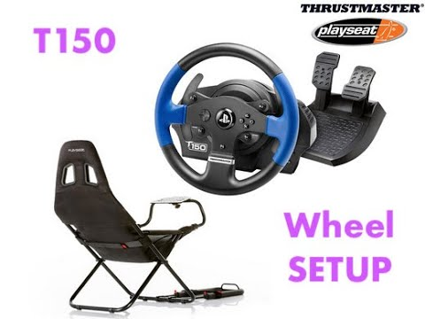 F1 2019 Steering Wheel Thrustmaster t150 SETUP PS4, Видео