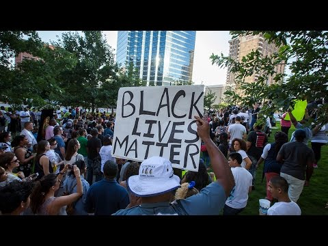 Video of Black Lives Matter Protest and Police Shooting in Dallas
