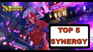 2019 TOP 5 SYNERGY!!! - Marvel Strike Force