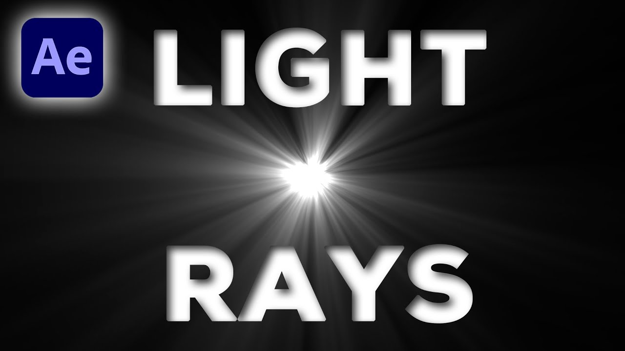 Download How to make light rays in After Effects | After Effects tutorial