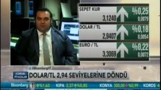 ALB Forex Araştırma Uzmanı Enver Erkan, Dolar/TL'yi değerlendiriyor. Bloomberg HT