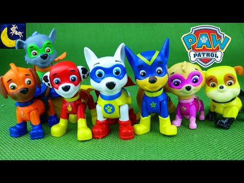 Paw Patrol Apollo Super Pup Heroes Toys, All Star Pups Vehicles and Jungle Rescue Pups Vehicle Toys