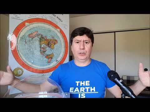 Experiment proves  Noah's Flood possible on a FLAT EARTH only