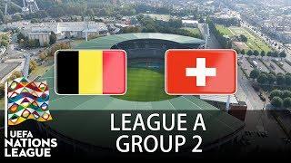Belgium vs Switzerland - 2018-19 UEFA Nations League - PES 2019