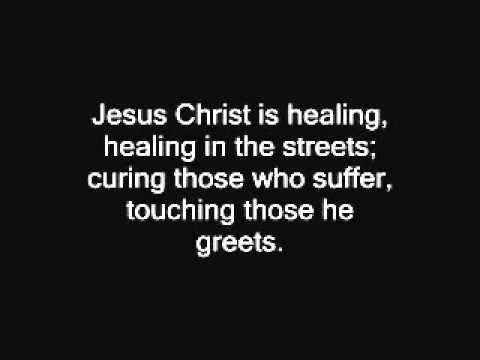 Jesus Christ is waiting hymn - John Bell