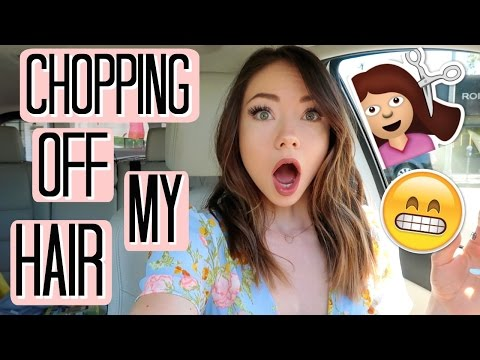 I CHOPPED OFF MY HAIR?!? | VlogsbyMeredith