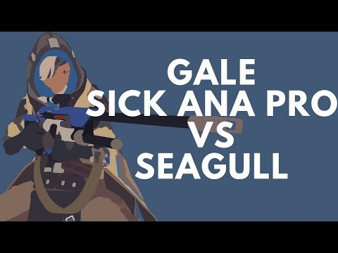Overwatch Galeadelade Shows How To Carry A Game As Ana -Against Seagull- thumbnail