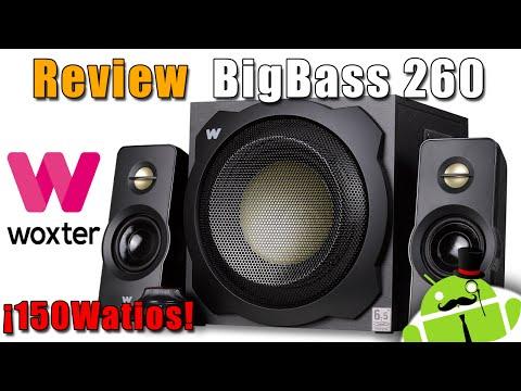 Review Woxter Big Bass 260 - ¡Mejor Calidad, Potencia y Precio 150 watios!