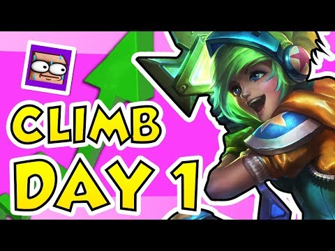 60 games in 4 days THE CHALLENGER CLIMB - DAY 1
