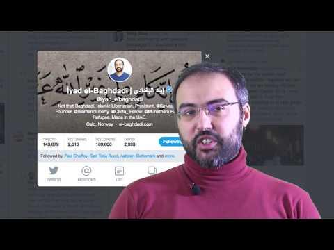 Twitter Masterclass by Iyad el-Baghdadi – Oslo Media House
