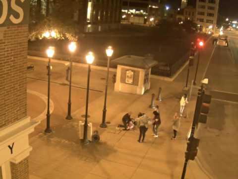 Bike accident - severe head injury   Downtown Springfield, Illinois