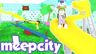 MEEPCITY🏫NEW PLAYYARD FOR MY STUDENTS👧🏻UPDATE - ROBLOX