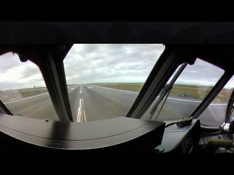 Landing aboard French Navy Atlantique 2