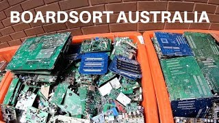 Buying Circuit Boards, Gold Recovery, Boardsort Australia