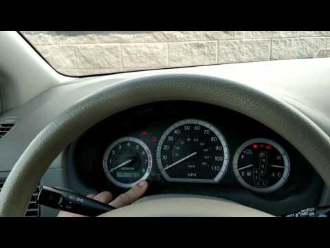 How to reset a maintenance light on a 2005 Toyota sienna  YouTube