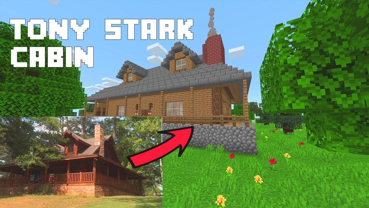 Tony Stark Cabin In Minecraft