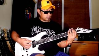 Demiricous - To Serve Is To Destroy guitar cover by Freddy Delacruz [freddypipes]