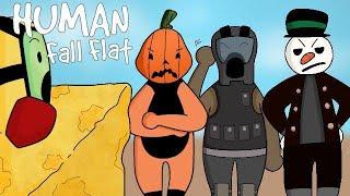 Human Fall Flat:funny moments pt3 but its usda choice