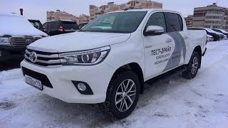 2015 Toyota Hilux. Start Up, Engine, and In Depth Tour.
