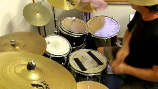 Streets of San Francisco theme song drum cover