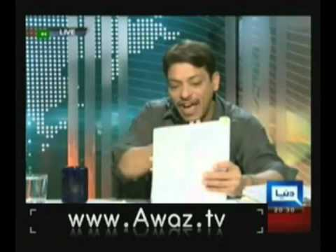 Dunya @ 8 With Malick - (Faisal Raza Abidi Interview) 13th August 2012
