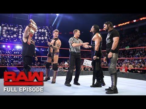 WWE Raw Full Episode, 19 December 2016