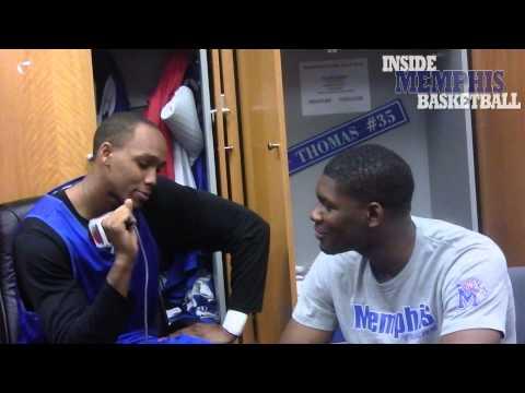 Ferrakohn Hall and Adonis Thomas interview each other