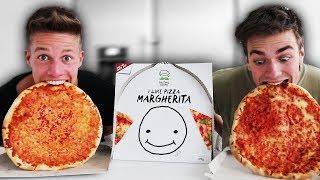 Wir essen meine PIZZA ohne Hände 🍕