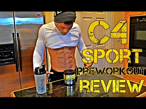 Cellucor C4 Sport Pre-Workout Supplement Review