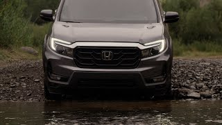 homepage tile video photo for 2021 Honda Ridgeline: Capability and Adventure
