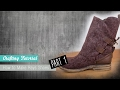 How to make Reys Boots from Star Wars the Force awaken (Part 1) | Naoko Cosplay |